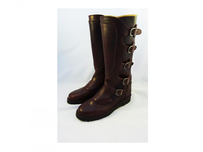 Dastra boots ″Five Buckles″ dark brown.