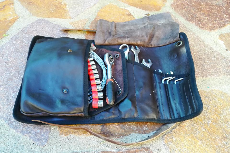 Dastra tool roll used