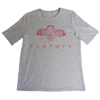 T-shirt Dastra ″Flat Twin″ Bmw 2V